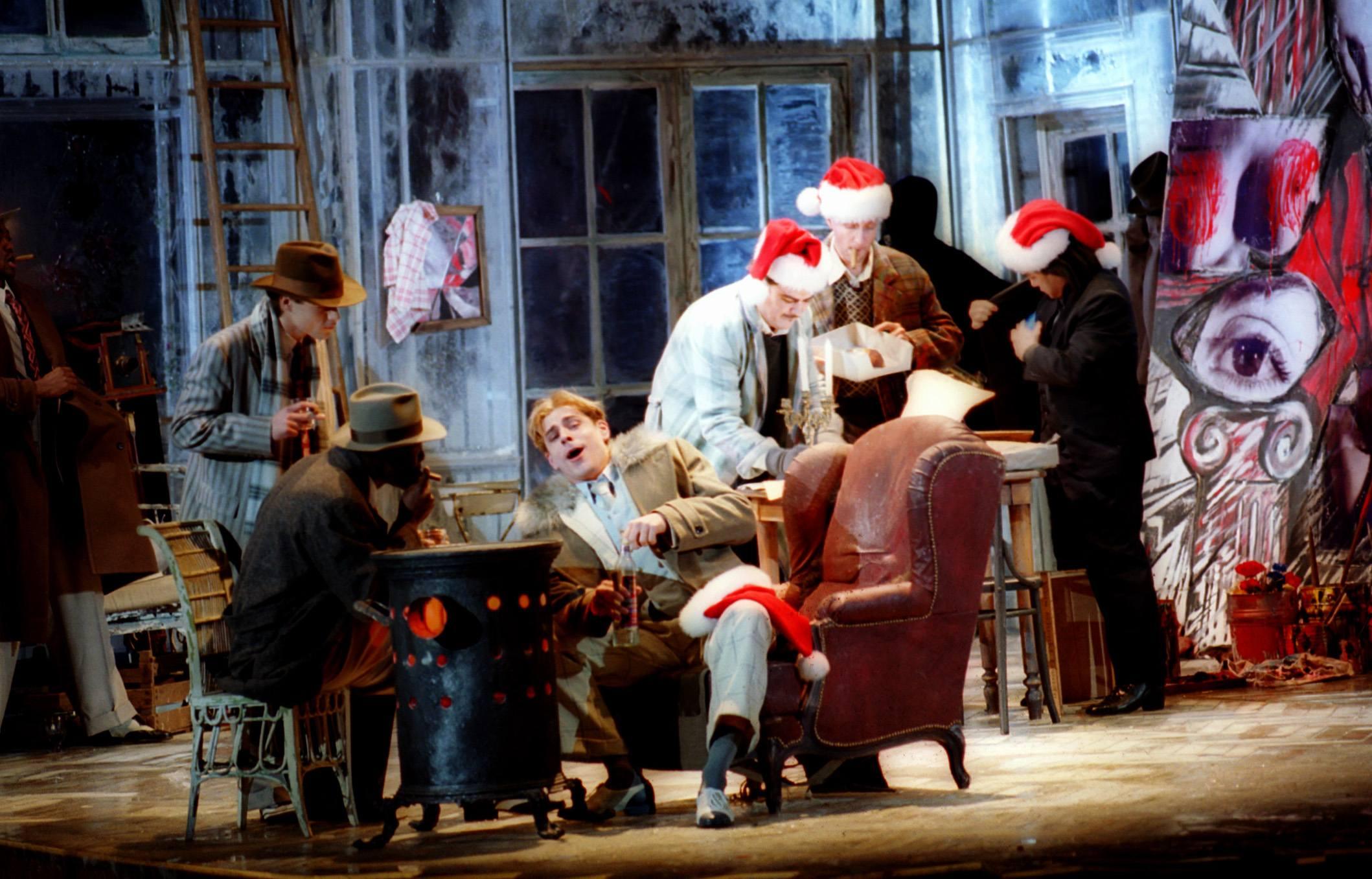 Mimi Rührt Zu Tränen Zur Oper La Bohème Von Giacomo Puccini In