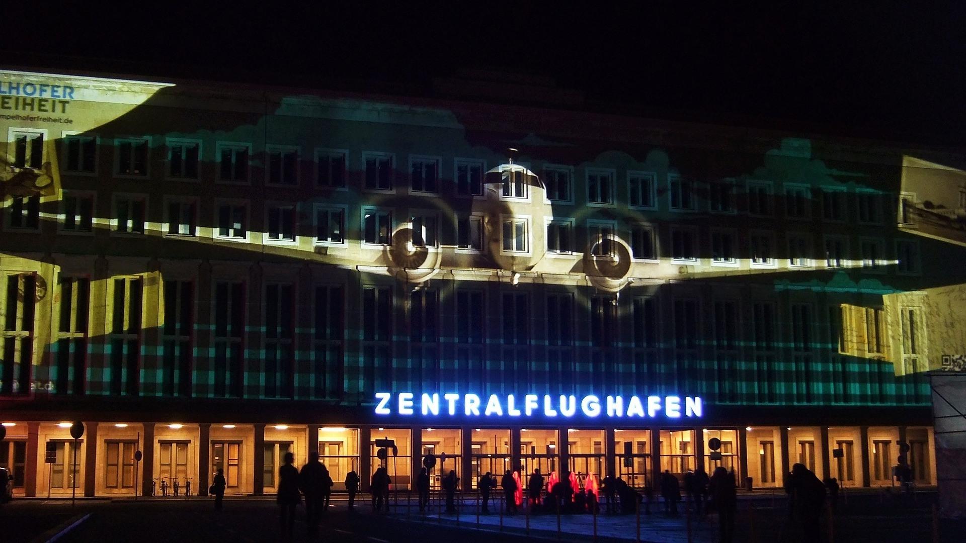 Zentralflughafen Tempelhof in Berlin.
