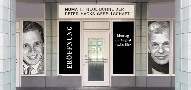 Eröffnung der Neuen Bühne der Peter-Hacks-Gesellschaft