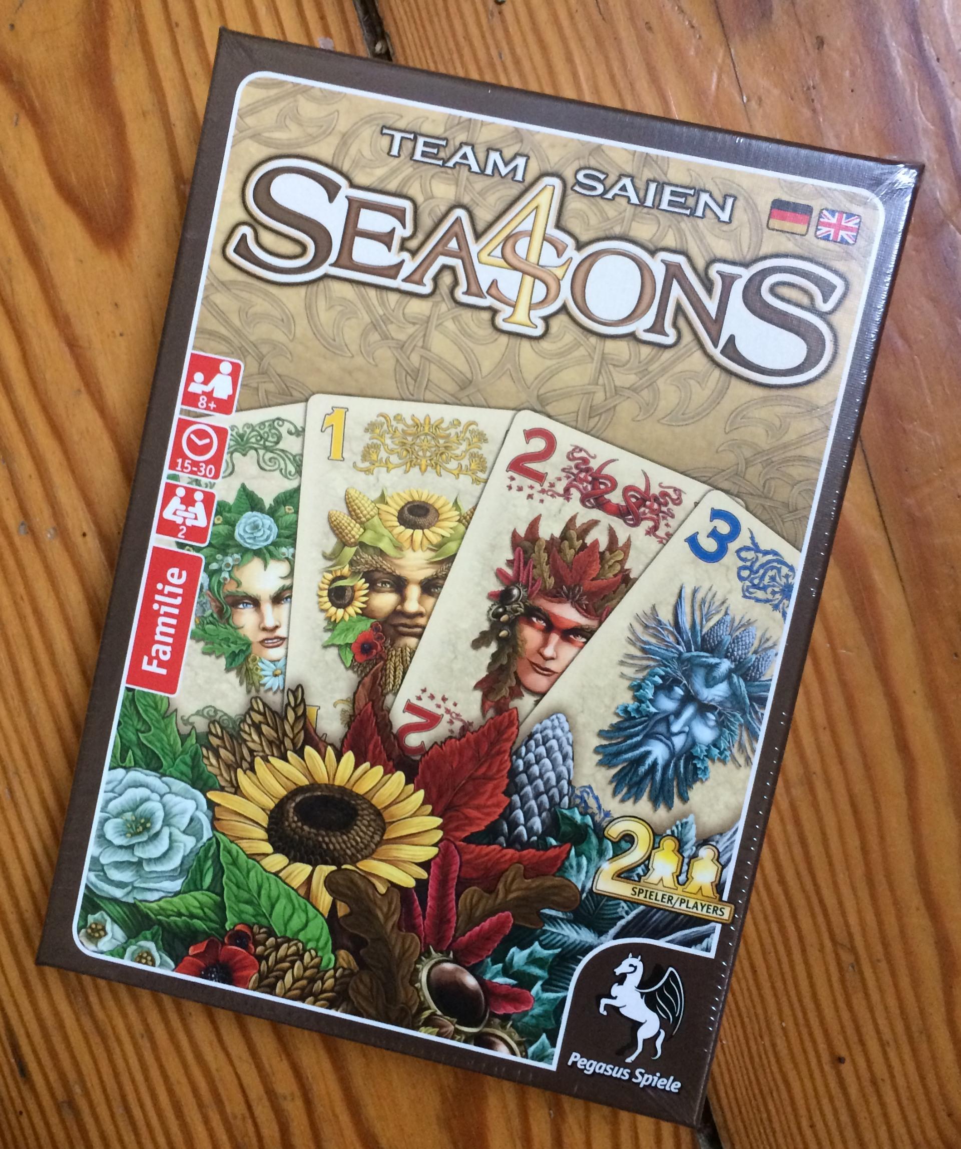 4 seasons spielen