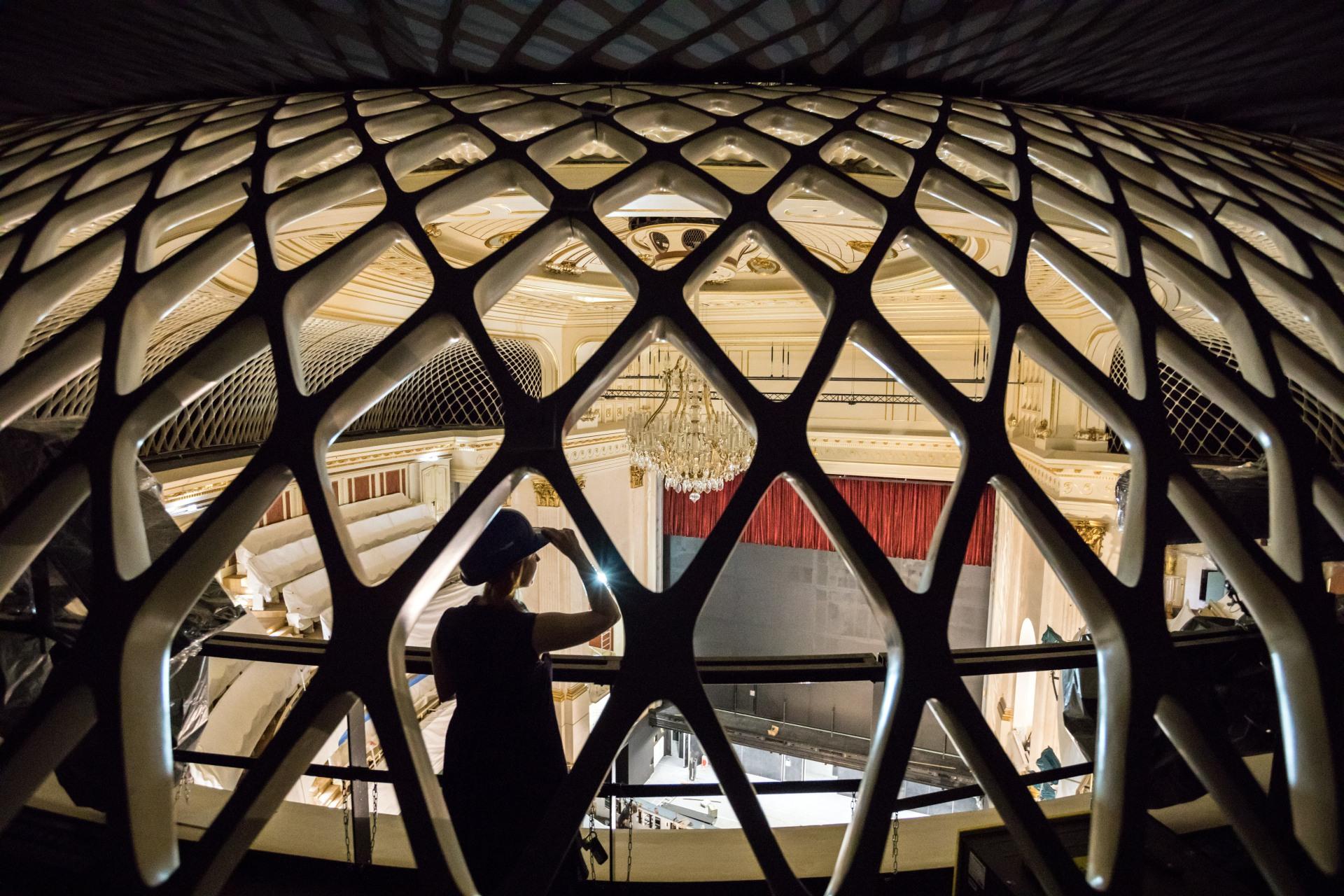 Blick in die Staatsoper Unter den Linden in Berlin.