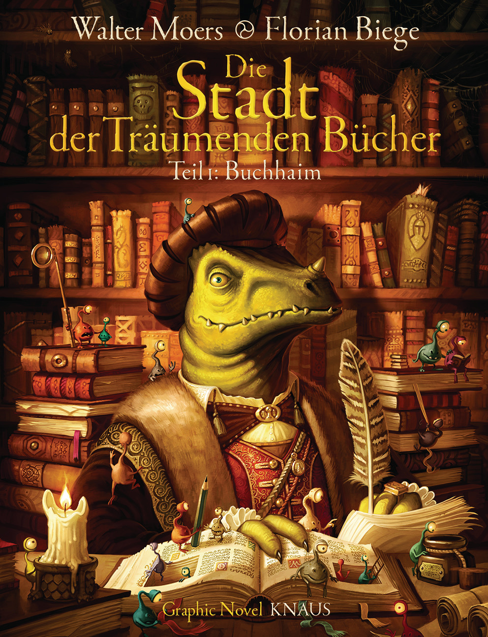 Die Stadt der Träumenden Bücher.
