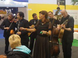 Musikgruppe Walk-a-tones in Hessen-Halle 22 auf der83. Internationalen Grüne Woche IGW 2018