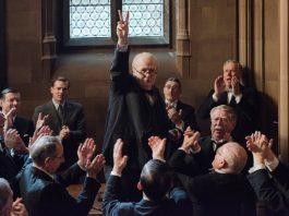 """Winston Churchill in """"Die dunkelste Stunde""""."""