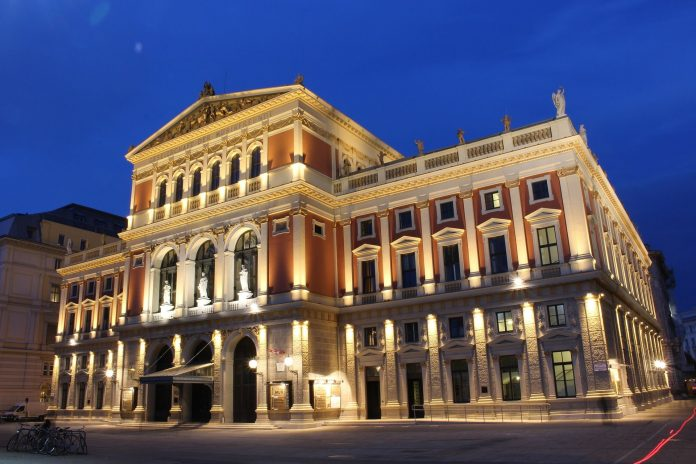 Musikverein in Wien.