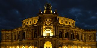 Semperoper in Dresden.