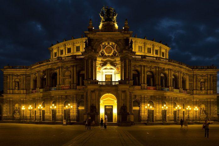 Semperoper in Dresden.