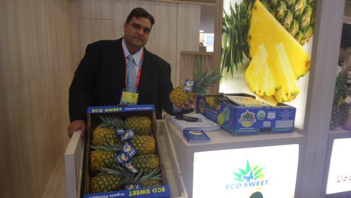 Ein Stand auf der Fruit logistica.