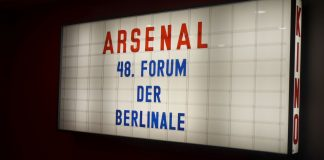 Das 48. Forum der Berlinale im Kino Arsenal in Berlin.