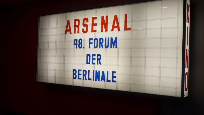Das 48. Forum der Berlinale im Kino Arsenal in Berlin.