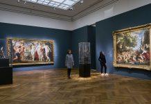 """Ausstellungsansicht """"Rubens. Kraft der Verwandlung""""."""