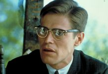 "Willem Dafoe in ""Mississippie Burning"" von Alan Parker."