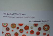 Flyer zur Ausstellung im neuen Tapir