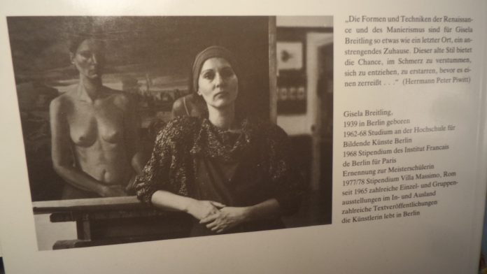 Buch-Cover Gisela Breitling