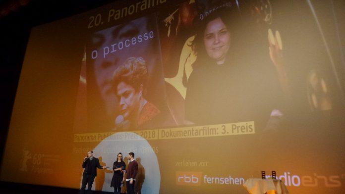 Vergabe Panorama-Publikumspreis der 68. Berlinale.