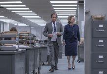 """Szene aus dem Film """"Die Verlegerin"""" von Steven Spielberg."""