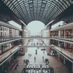 """Die Ladengalerie """"Mall of Berlin"""" in Berlin."""