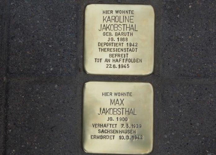 Stolpersteine in Rüdersdorf bei Berlin.