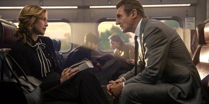 "Szene aus dem Film ""The Commuter""."