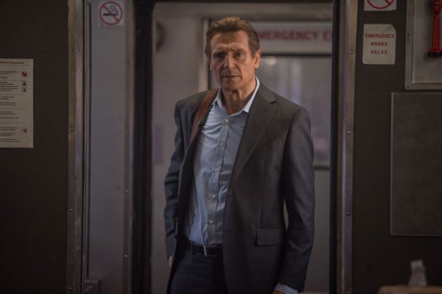 "Liam Neeson fährt Zug in ""The Commuter""."