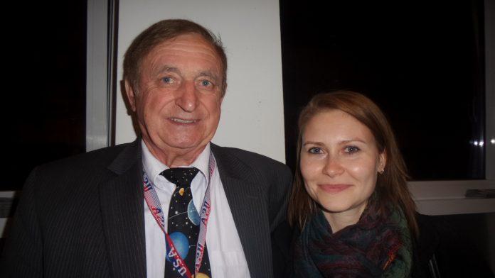 Kazimierz Blaszczak und Agnieszka Elbanowska vom Film