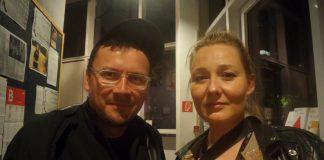 Regisseur Piotr Stasik und Moderatorin und Kinobetreuerin Monika Wojtillo im Kino Fsk am Oranienplatz beim Filmfestival Filmpolska