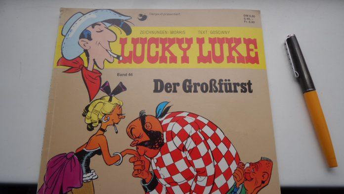 Lucky Luke Heft 46 Der Großfürst (Comic)