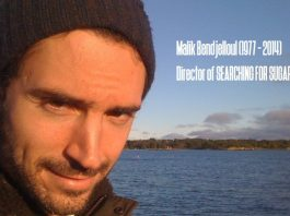 "Bild zum 4. Todestag von Malik Bendjelloul (1977-2014), Regisseur des Films ""Searching for Sugar Man"""