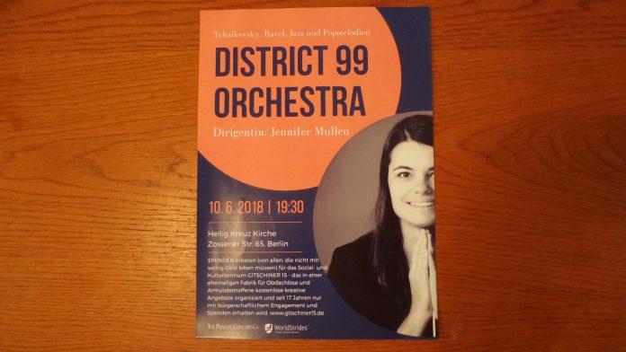 Konzert in Heilig-Kreuz-Kirche Berlin 19.30 Uhr am 10.6.2018