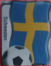 Magnet (Ausschnitt): Schweden, Fußball und Landesname