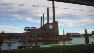 Hauptwerk von VW bzw. Volkswagen in WOB (Stadt Wolfsburg)