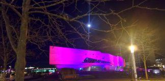 Veranstaltungsort am Bahnhof: Das phaeno in WOB, Niedersachsen, BRD
