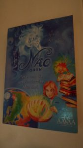"""Buch aus dem AAVAA-Verlag """"NAO. 1. Buch. Peter und die geheimnisvolle Muschel"""""""