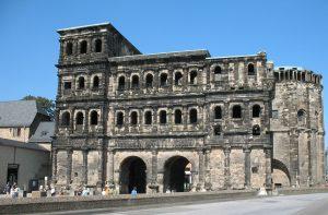 Porta Negra in Trier.