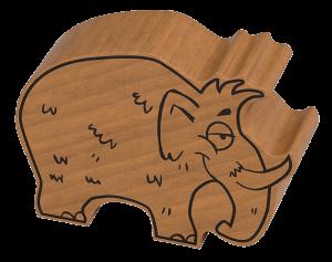 Das Mammut Martin.