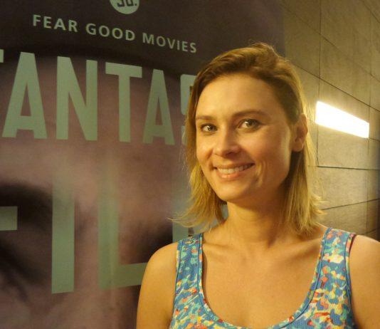 Eine Schauspielerin auf dem 30. Fantasy-Film-Fest am 27.8.2016