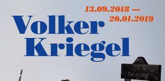 "Plakat zur Ausstellung ""Volker Kriegel"" im Caricatura Museum Frankfurt."