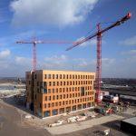 Das erste Holzhochhaus in Wien wird gebaut.