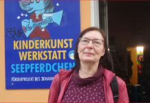 Kinderbuchautorin Renate Straetling in Berlin-Mitte