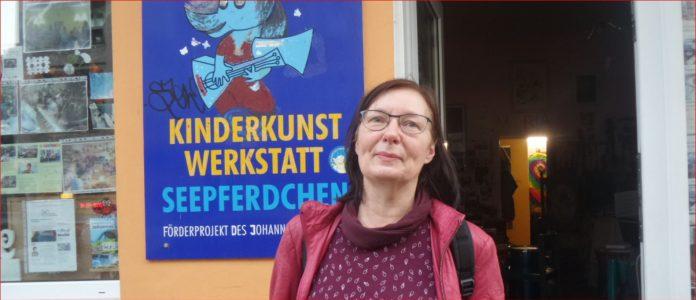 Kinderbuchautorin Renate Straetling in Berlin-Mitte