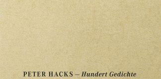 Peter Hacks, Hundert Gedicht.