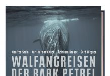 Walfangreise der Bark Petrel