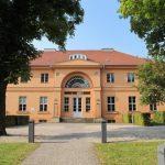 Ein Blick auf das Gutshaus Steglitz in Berlin.
