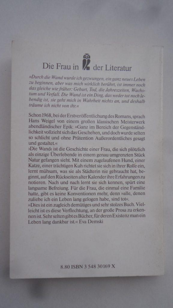 Ullstein-Taschenbuch Nr. 30169 von 1990. ISBN 354830169X