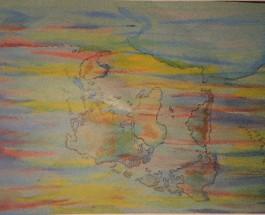 Tauwetter-Kopfstand. Ursula Manthei eröffnet ihre Ausstellung von Zeichnungen und Aquarellen persönlich