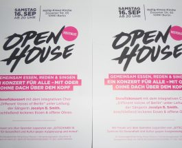 """Gute Musik und offene Ohren. OPEN HOUSE in der Heilig-Kreuz-Kirche mit den """"Different Voices of Berlin"""" und Jocelyn B. Smith"""