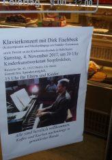 """Spitzenmusiker im Brüsseler Kiez: Klavier-Konzert mit Dirk Fischbeck in der Kinderkunstwerkstatt """"Seepferdchen"""" in Wedding"""