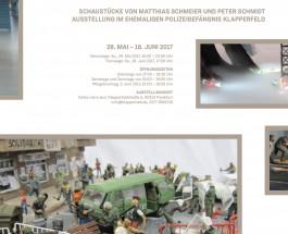 """Auf zur Finissage der Ausstellung """"Kunst und Widerstand – Schaustücke von Matthias Schmeier und Peter Schmidt"""" ins Polizeigefängnis Klapperfeld"""