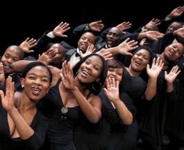 """Champagner-Arie mit Klick-Lauten –Die """"African Angels"""" in der Beethovenhalle Bonn"""
