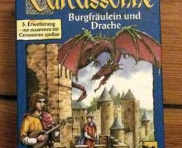 Carcassonne – Burgfräulein und Drache (3. Erweiterung)